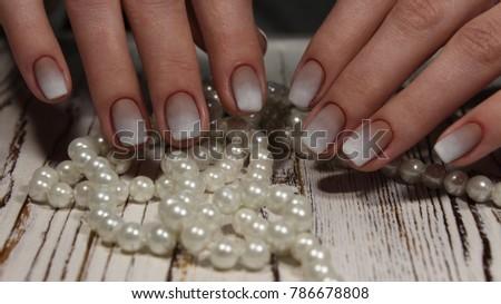 Fashion nails design manicure, best of 2017 #786678808