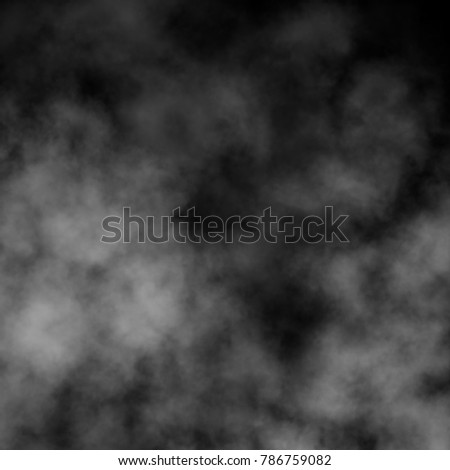 Fog and smoke effect on black background. #786759082