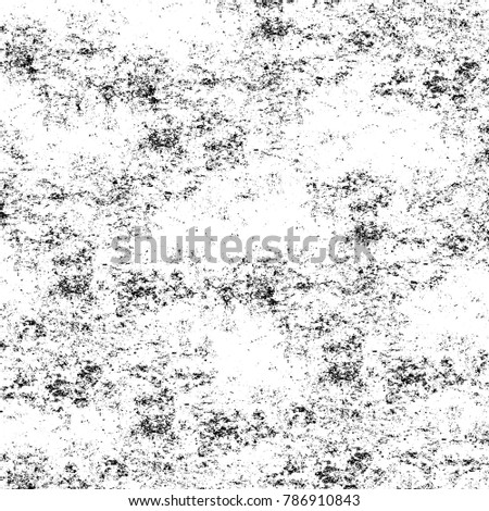 Old grunge weathered wall background. Abstract backdrop with cracks, spots, stains. Damaged antique surface #786910843