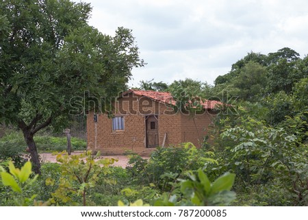 Houses of Rural Area in Piaui, Brazil #787200085