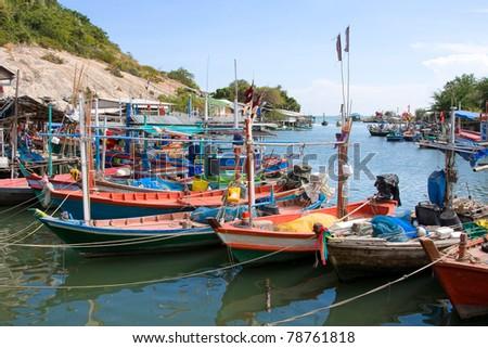 Fishing village #78761818