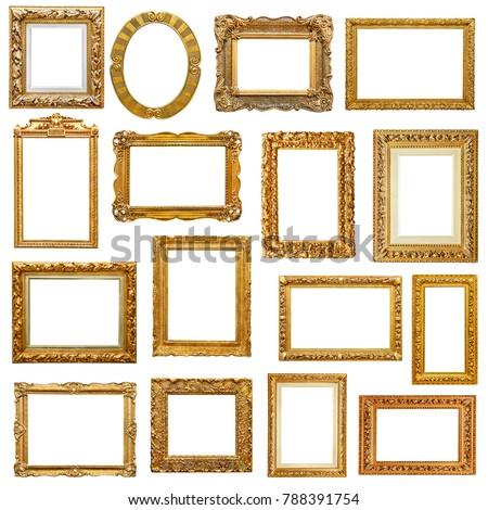 Baroque frames collection