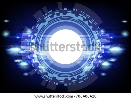Abstract technology background #788488420