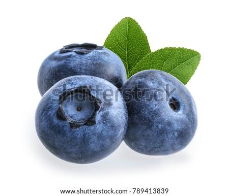 blueberry isolated on white background #789413839