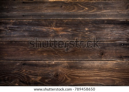 Wooden planks background,design mock up. Rustic and grounge wood. #789458650