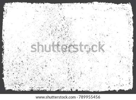 Grunge frame.Grunge background.Abstract vector template. #789955456