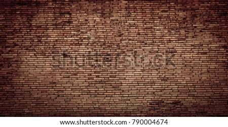 red brick wall texture grunge background #790004674