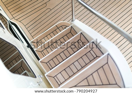 Vacation on Motor Yacht, details of Interior Luxury Yacht from Bahamas to Caribbean #790204927