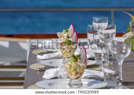 Vacation on Motor Yacht, details of Interior Luxury Yacht from Bahamas to Caribbean #790220989