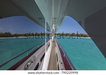 Vacation on Motor Yacht, details of Interior Luxury Yacht from Bahamas to Caribbean #790220998