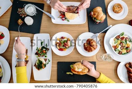 big morning breakfast #790405876