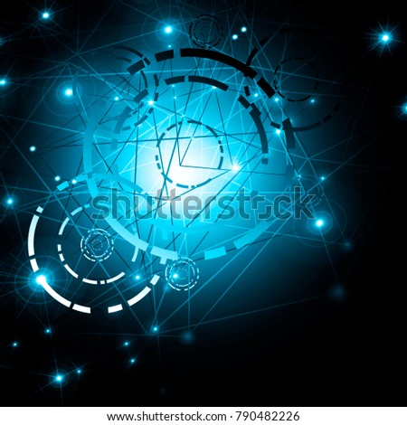 Best Internet Concept of global business.Technological background. Electronics, Wi-Fi, rays, symbols of the Internet, television, mobile and satellite communications #790482226