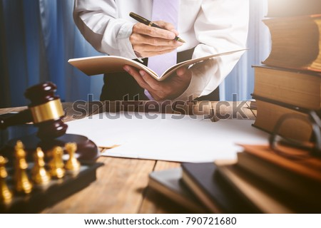 The private office of an Asian young lawyer who is currently working on financial information in private banks. To monitor financial accounts and assist clients. #790721680