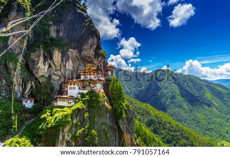 Taktshang Goemba, Tiger nest monastery, Bhutan #791057164