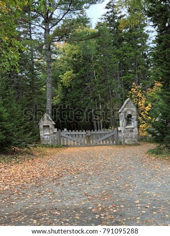 carriage road gate #791095288