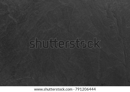 Dark grey black slate background or texture. Surface stone wall. #791206444