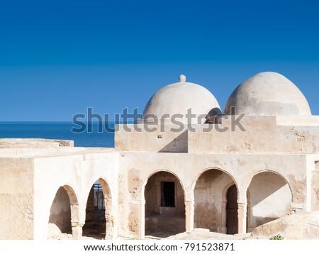 Djerba, Tunisia, ancient South of Tunisia mosque, Djerba, the ancient Fadh Loon mosque #791523871