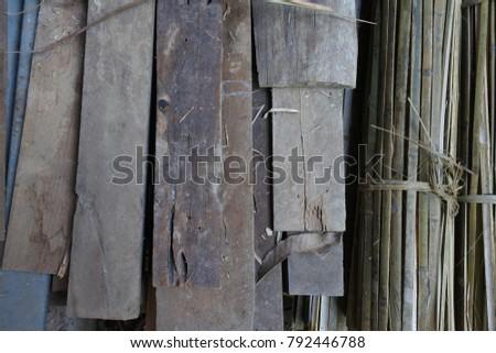 bamboo strip bind bamboo and plank #792446788