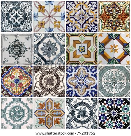 Lisbon tiles #79281952
