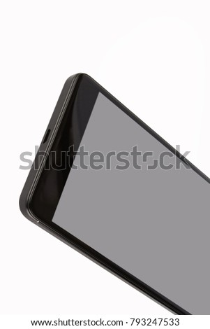 Black isolated smart phone #793247533