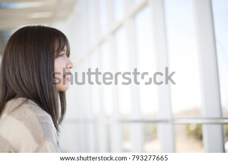 Bright and cute Japanese women #793277665