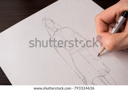 Drawing Fashion Illustration
