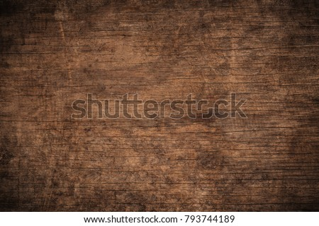 Old grunge dark textured wooden background,The surface of the old brown wood texture,top view brown wood panelitng #793744189