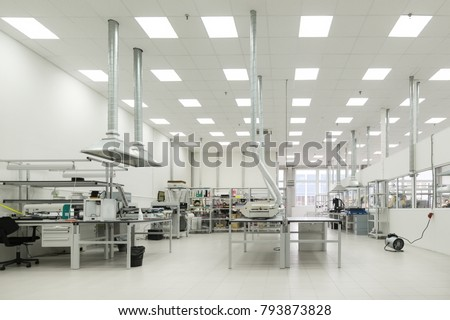 Electronic industry. Shop assembly of printed circuit boards. #793873828