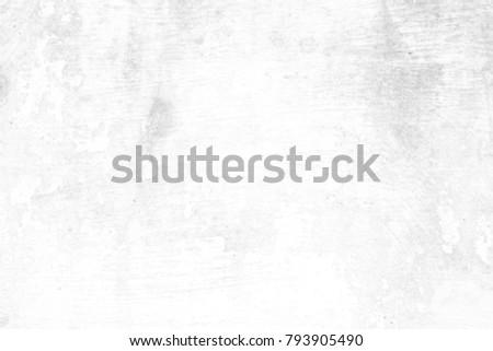 White Grunge Concrete Wall Texture Background. #793905490