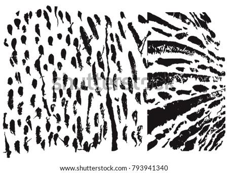 tile decoration hand drawn  pattern set #793941340