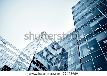 modern business center at night #79426969