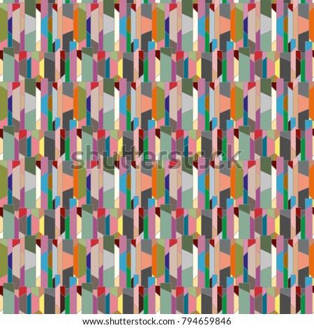 Abstract color seamless pattern for new background. #794659846