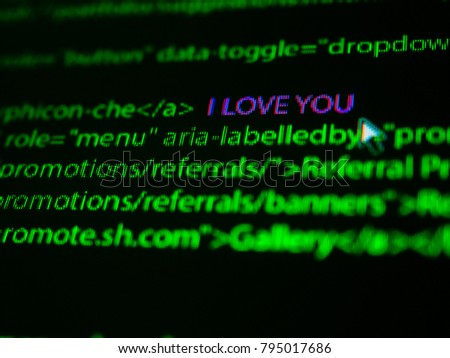 i love you no screen , valentine day