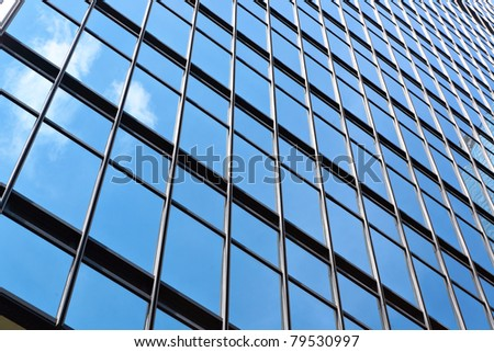 office building glass wall #79530997