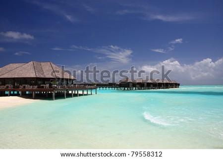 beautiful water villa in maldives, olhuveli #79558312