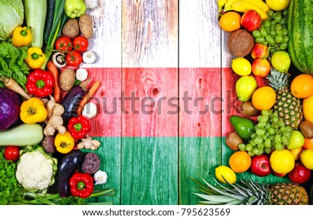 Fresh fruits and vegetables from Oman #795623569