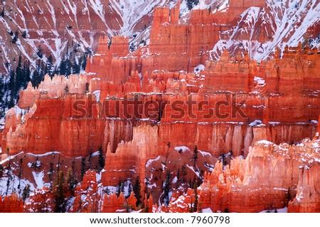 Colorful sandstone spires, Bryce Canyon National Park, Utah #7960798