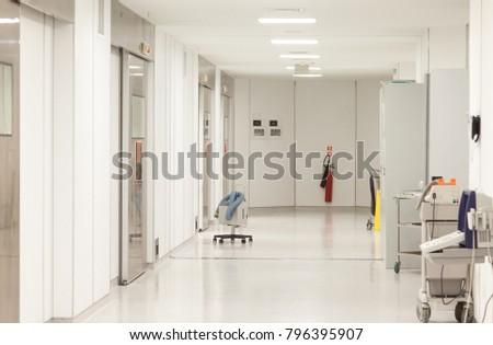 Hospital Surgeries Corridor #796395907