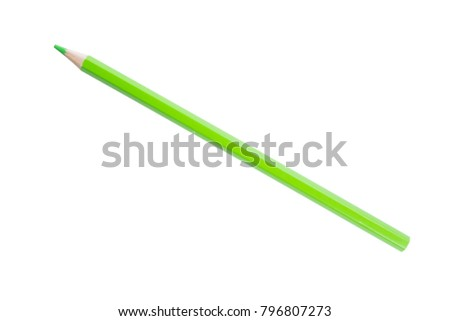 Pencil isolated on white background,with clipping path #796807273