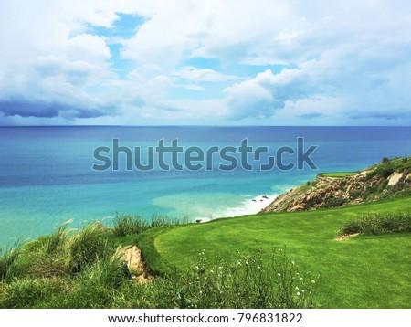Los cabos Baja California Sur Mexico Golf Course  #796831822