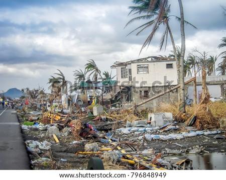 Natural Disaster Damage #796848949