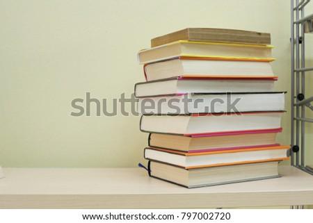 Books on the shelf #797002720