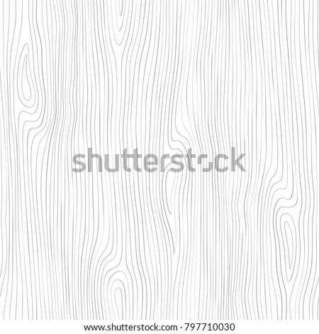 Seamless wooden pattern. Wood grain texture. Dense lines. Abstract background. Vector illustration Royalty-Free Stock Photo #797710030