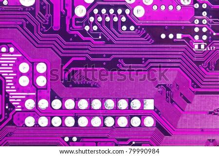 Computer motherboard closeup #79990984