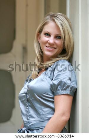 Pretty blonde woman #8066914