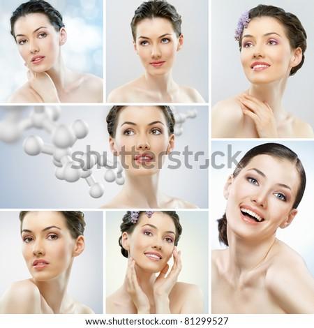 portrait of a beautiful healthy girls #81299527