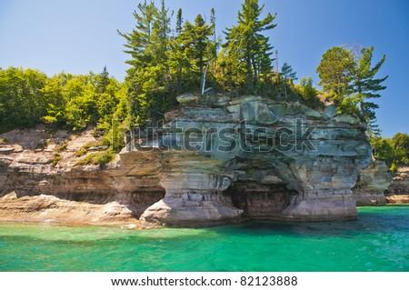 Pictured Rock National Lake Shore Michigan State
