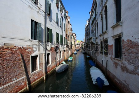 Venice's canals #82206289
