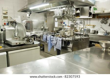 Restaurant kitchen #82307593