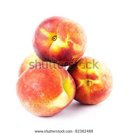 peach isolated #82382488
